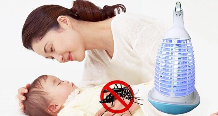 Đèn diệt côn trùng có an toàn cho người sử dụng