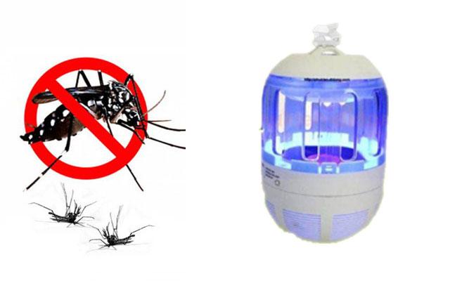 Sử dụng ánh sáng của đèn bắt muỗi để tiêu diệt muỗi