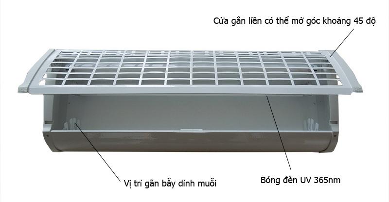 Thiết kế Đèn bắt muỗi côn trùng bẫy dính GB-220